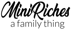 Mini Riches text only logo.