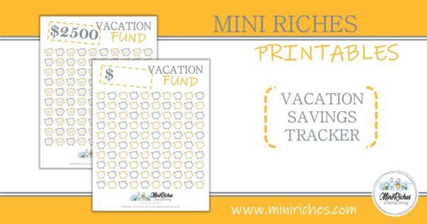 Vacation fund product showcase.