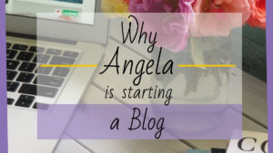 Twitter link image Why Angela is Starting a Blog