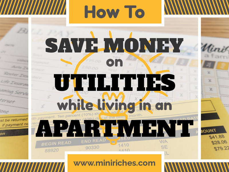Feature post image for How to Save Money on Utilities While Living in an Apartment.