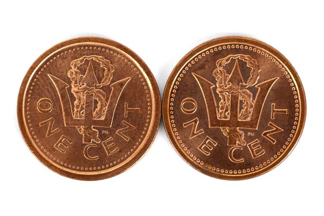 An image showing two one cent coins.