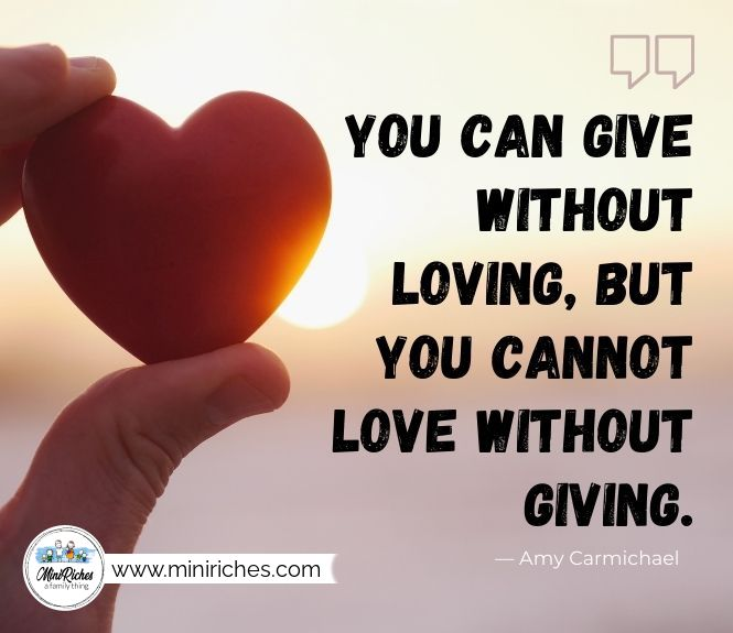 You can give without loving, but you cannot love without giving. Tips for a happy and healthy marriage in your thirties.