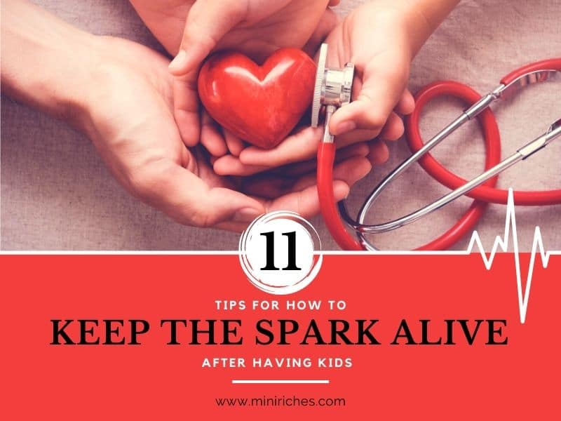 Feature image for 11 Tips for How to Keep the Spark Alive After Having Kids post.