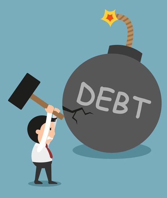 smash debt is what you should do with your tax return
