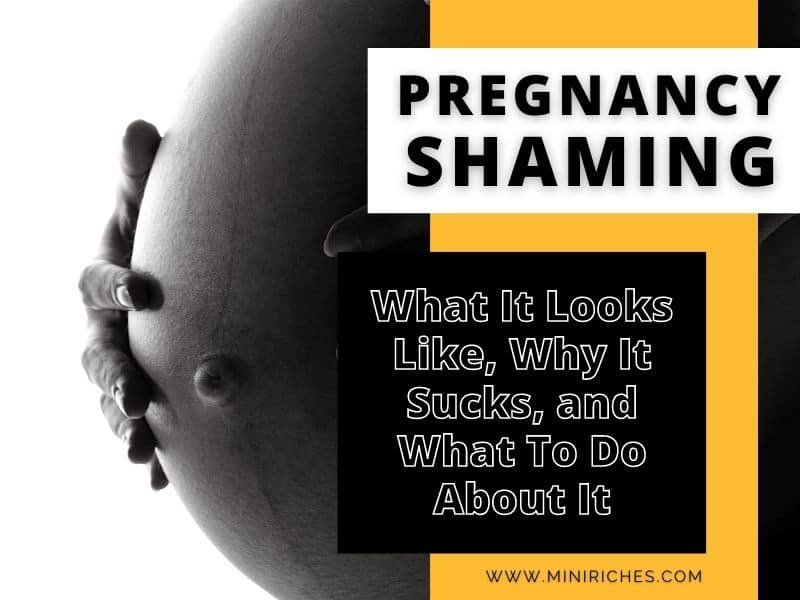Feature image for Pregnancy Shaming: What It Looks Like, Why It Sucks, and What To Do About It post.