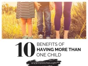 Feature image for 10 Benefits of Having More Than One Child post.