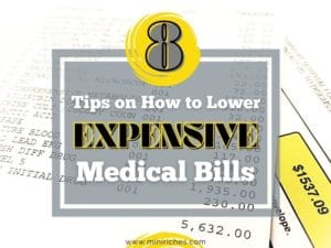 Feature image for 8 Tips on How to Lower Expensive Medical Bills post.