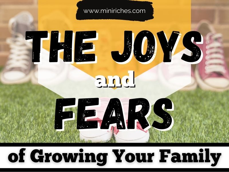 Feature image for The Joys and Fears of Growing Your Family post.
